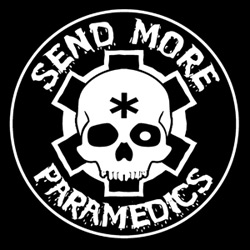 Send More Paramedics - New Round Logo Sticker