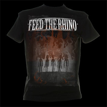 Feed The Rhino 'The Burning Sons' Tshirt